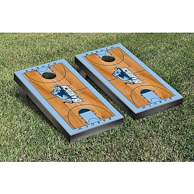 Victory Tailgate NCAA Basketball Court Cornhole Game Set; Baruch College Cuny Bearcats