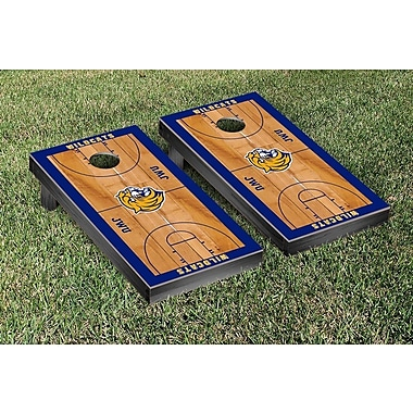 Victory Tailgate NCAA Basketball Court Cornhole Game Set; Johnson and Wales Wildcats