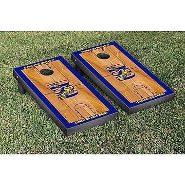 Victory Tailgate NCAA Basketball Court Cornhole Game Set; Coppin State University Eagles