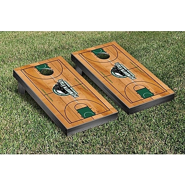 Victory Tailgate NCAA Basketball Court Cornhole Game Set; Plymouth State Panthers