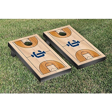 Victory Tailgate NCAA Basketball Court Cornhole Game Set; Ithaca College Bombers