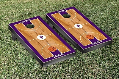 Victory Tailgate NCAA Basketball Court Cornhole Game Set; Mckendree Bearcats