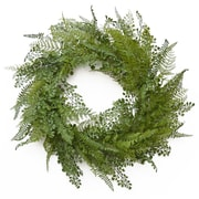 Floral Home Decor Wispy 24'' Fern Wreath