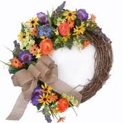 Floral Home Decor Flower 20'' Wreath