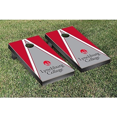 Victory Tailgate NCAA Triangle Version 2 Cornhole Game Set; Valparaiso University Valpo Crusaders