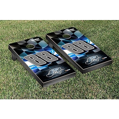 Victory Tailgate NCAA Nascar Racing Flag Version Cornhole Game Set; NASCAR Kyle Busch #18