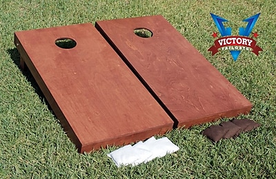 Victory Tailgate Stained Signature Series Cornhole Set; Rosewood