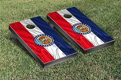 Victory Tailgate State Flag Cornhole Game Set; Missouri