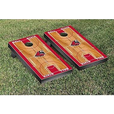 Victory Tailgate NCAA Basketball Wooden Cornhole Game Set; Ball State Cardinals