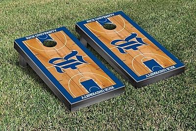 Victory Tailgate NCAA Basketball Version Cornhole Bean Bag Toss Game; Rice Owls