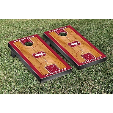 Victory Tailgate NCAA Basketball Wooden Cornhole Game Set; Stanford University Cardinal