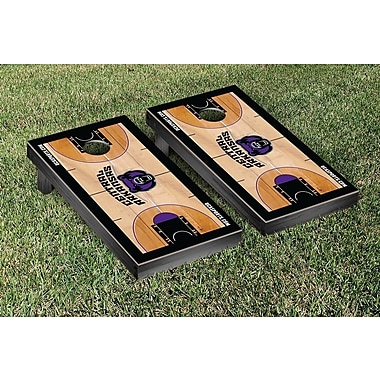 Victory Tailgate NCAA Basketball Wooden Cornhole Game Set; University of Central Arkansas Bears