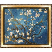 Tori Home Branches of an Almond Tree in Blossom' by Vincent van Gogh Framed Painting