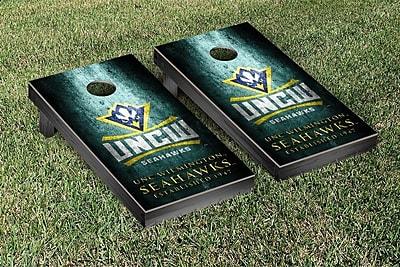 Victory Tailgate NCAA Metal Version Cornhole Game Set; North Carolina at Wilmington Seahawks WYF078278873721