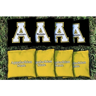 NCAA Appalachian State Mountaineers Replacement Corn Filled Version 2 Cornhole Bag Set