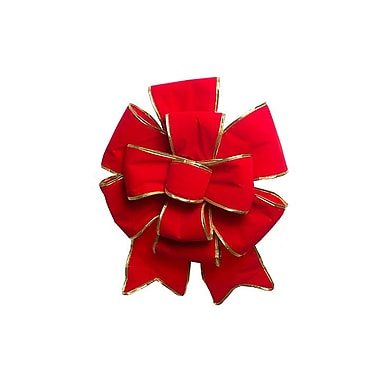 Queens of Christmas 24'' Puffed Ribbon and Bow
