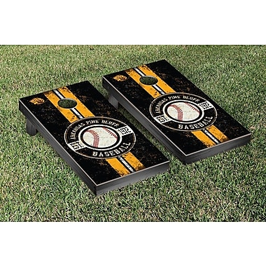 Victory Tailgate NCAA Baseball Version Cornhole Game Set; Arkansas Little Rock UALR Trojans
