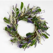 Worth Imports Lavender Leaves Twig 20'' Wreath
