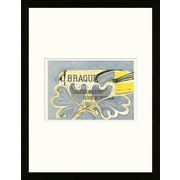 Artemis Editions School of Paris 'Galerie Maeght Paris 1952' by Georges Braque Framed Lithograph