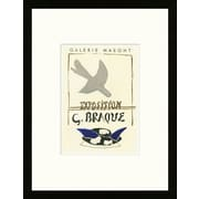 Artemis Editions School of Paris 'Galerie Maeght Paris 1959' by Georges Braque Framed Lithograph