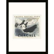 Artemis Editions School of Paris 'Galerie Maeght Paris 1950' by Marc Chagall Framed Lithograph