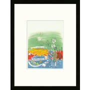 Artemis Editions School of Paris 'Exposition d'Art Fran ais 1939' by Raoul Dufy Framed Lithograph