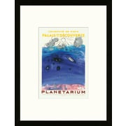 Artemis Editions School of Paris 'Planetarium 1956' by Raoul Dufy Framed Lithograph