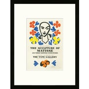 Artemis Editions School of Paris 'The Tate Gallery London 1953' by Henri Matisse Framed Lithograph