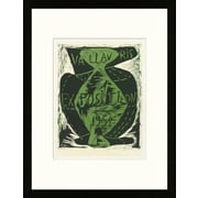 Artemis Editions School of Paris 'Exposition Vallauris 1954' by Pablo Picasso Framed Lithograph