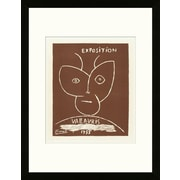 Artemis Editions School of Paris 'Exposition Vallauris II 1955' by Pablo Picasso Framed Lithograph