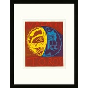Artemis Editions School of Paris 'Toros en Vallauris 1956' by Pablo Picasso Framed Lithograph