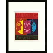 Artemis Editions School of Paris 'Exposition Vallauris 1956' by Pablo Picasso Framed Lithograph