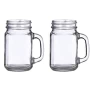 Lillian Rose 16 Oz. Mason Jar Mug (Set of 2)