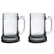 Lillian Rose 16 Oz. Mug Beer Glass (Set of 2)