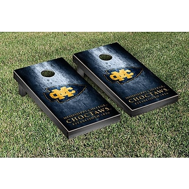 Victory Tailgate NCAA Mississippi College Choctaws Dragons Metal Version Cornhole Game Set