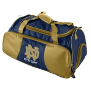 Logo Brands NCAA 21'' Gym Duffel; University of Notre Dame