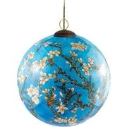 La Pastiche Blossom Hand Painted Glass Ornament