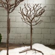 Tripar Tree; Textured Brown
