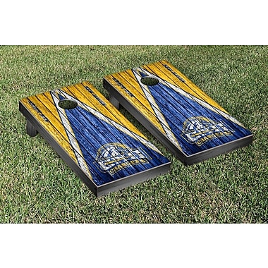 Victory Tailgate NCAA Weathered Triangle Version Cornhole Game Set