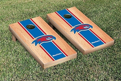 Victory Tailgate NCAA Hardcourt Striped Version Cornhole Game Set