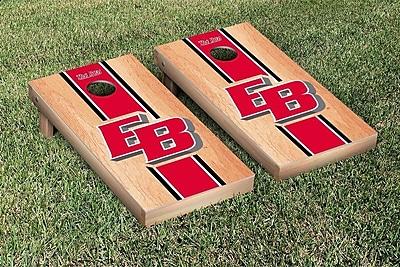 Victory Tailgate NCAA Hardcourt Striped Version Cornhole Game Set