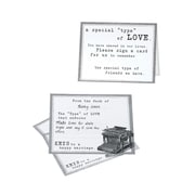 Lillian Rose Typewriter Guest Card (Set of 48)