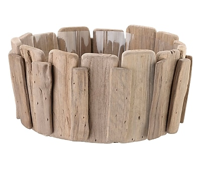 Lillian Rose Wood Basket for Chip