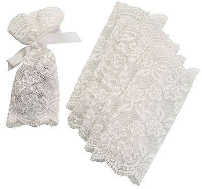 Lillian Rose Lace Favor Bag (Set of 6)