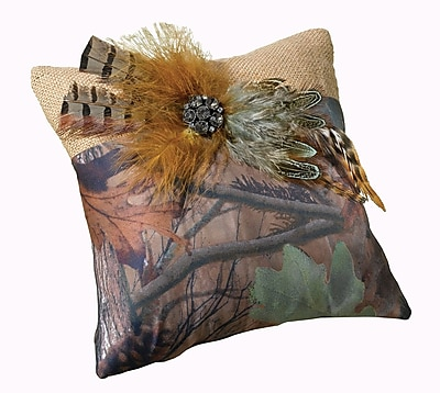 Lillian Rose Camouflage Ring Bearer Pillow WYF078280164446