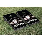 Victory Tailgate NCAA Banner Vintage Version Cornhole Game Set; Texas A&M Central Texas Warriors