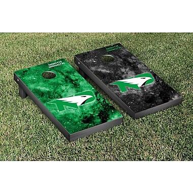 Victory Tailgate NCAA Galaxy Design Cornhole Game Set; University of North Dakota UND