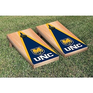 Victory Tailgate NCAA Hardcourt Triangle Version Cornhole Game Set