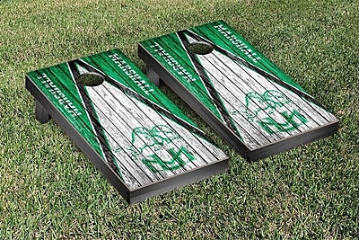 Victory Tailgate NCAA Weathered Triangle Version Cornhole Game Set