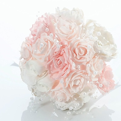 Lillian Rose Chic and Shabby Wedding Bouquet WYF078280164318